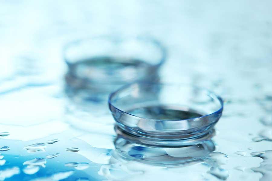 Plasma Treatment of Contact Lenses and Optics