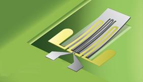 Smart strip illustration - Plasma Polymerised MEMS